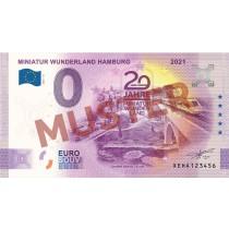 "Euro-Souvenir-Banknote Motif ""Maintalbrücke"" (2021-16.2) Anniversary-Edition"