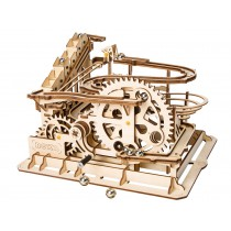 Waterwheel Ball Coaster 3D Puzzle Wood - Robotime ROKR LG501
