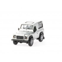 Welly 73127 H0 Land Rover (silber)