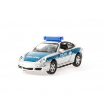 "Welly 73117b H0 Porsche 911 (997) Carrera S Coupe ""Polizei"" (blau)"