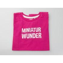 """T-Shirt """"Miniatur Wunder"""" pink"""