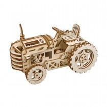 Tractor  3D Puzzle Wood - Robotime ROKR LK401