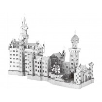 3D Metal Model Neuschwanstein Castle