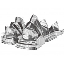 Mini 3D Metal Model Sydney Opera House