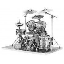 3D Metal Model Drum Set