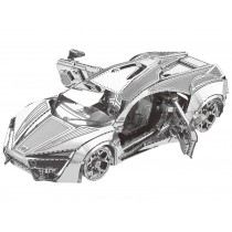 Mini 3D Metal Model Hyper Sports Vehicle