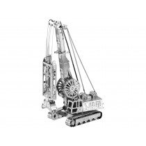 Mini 3D Metal Model Cable Dredger