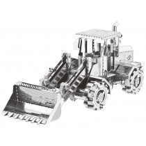 Mini 3D Metal Model Bulldozer