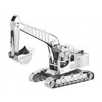 Mini 3D Metal Model Excavator