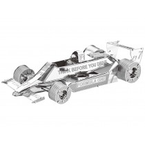 Mini 3D Metal Model Formula 1 Racecar F102