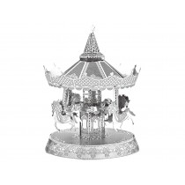3D Metal Model Merry Go Round