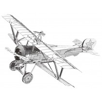 3D Metal Model Propeller Plane