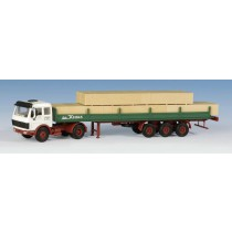 Kibri 14642 MB 1632S with trailer-platform