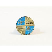 "Miniatur Wunderland Coin ""4 Elemente"" in a case"