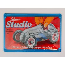Schuco 85180 Tin sign Edition #3 Studio