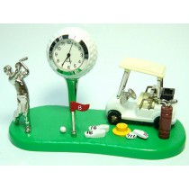 Golf Miniature Clock