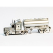 Road Tanker Miniature Clock