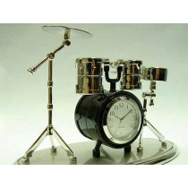 Drum Kit Miniature Clock