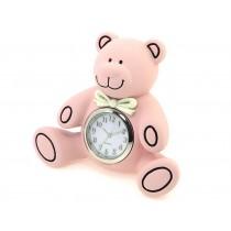 Teddy Bear Miniature Clock