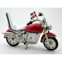Motorcycle Miniature Clock