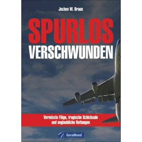 """Buch """"Spurlos verschwunden"""" von Jochen W. Braun"""