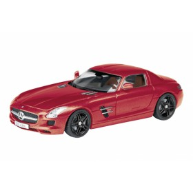 Schuco 25855  - Mercedes Benz SLS, red