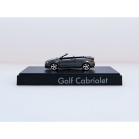 Wiking H0 VW Golf Cabriolet anthracite