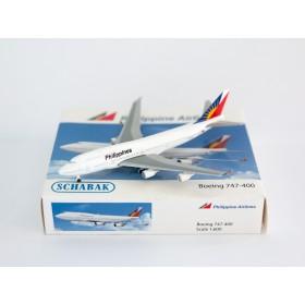 Schuco/Schabak 31415 Boeing 747-400 Philippine Airlines1:600