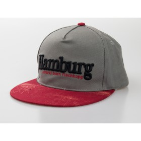 "Baseball-Cap ""Hamburg - natural born Fischkopp"""
