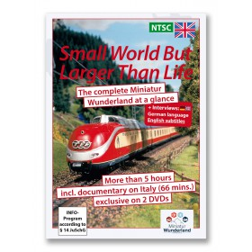 """DVD \"""" A small world, but larger than life\"""" NTSC-System"""