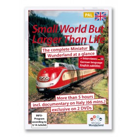 """DVD \"""" A small world, but larger than life\"""" PAL-System"""
