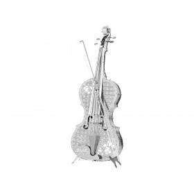 3D Metal Model Violin