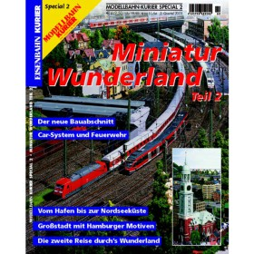 Eisenbahn-Kurier special edition Miniatur Wunderland Band 2