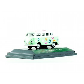 "Welly 73155 VW T1 -  Flower Power  ""Exklusiv im Miniatur Wunderland"""