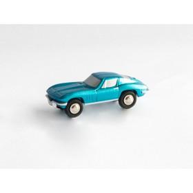 Schuco Piccolo 450566000 Chevrolet Corvette Stingray blau metallic
