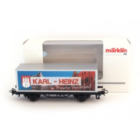 Miniatur Wunderland / Märklin H0 special wagon with YOUR NAME