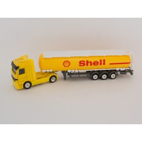 Welly H0 72133 MB Actros Tanklastwagen Shell