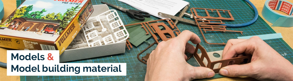Models and model building material